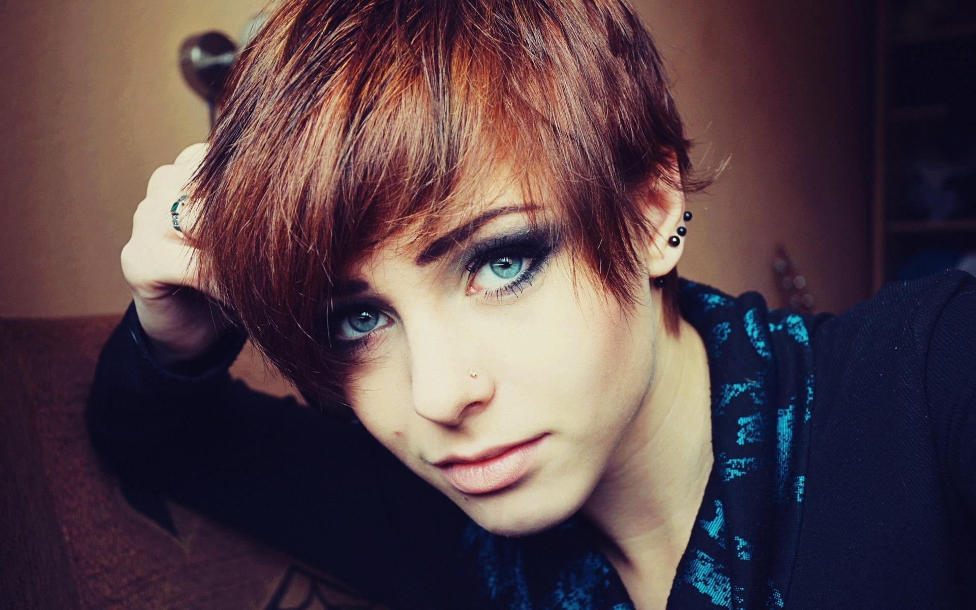 Рыженькие с короткими волосами 8 фотография
