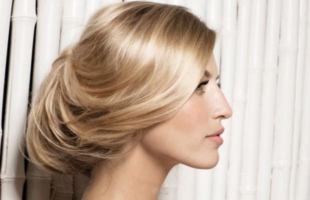 деловая причёска 2