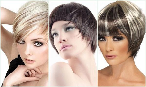 модные причёски 3