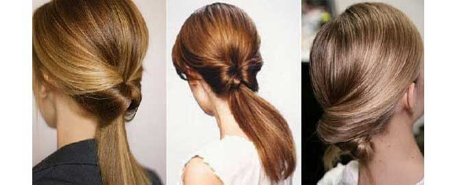 Деловые прически на длинные волосы фото своими руками