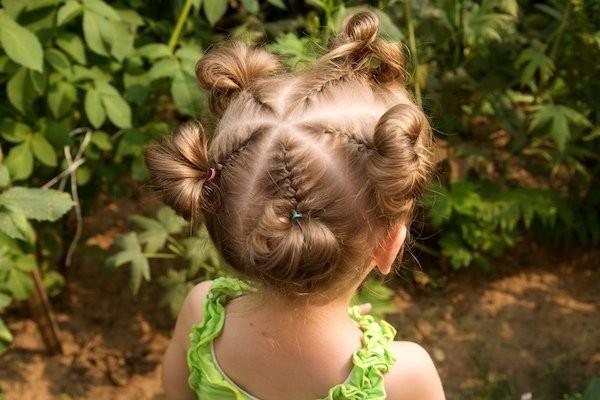 Впрочем, длина детских волос не должна ограничивать вашу тягу к творчеству.