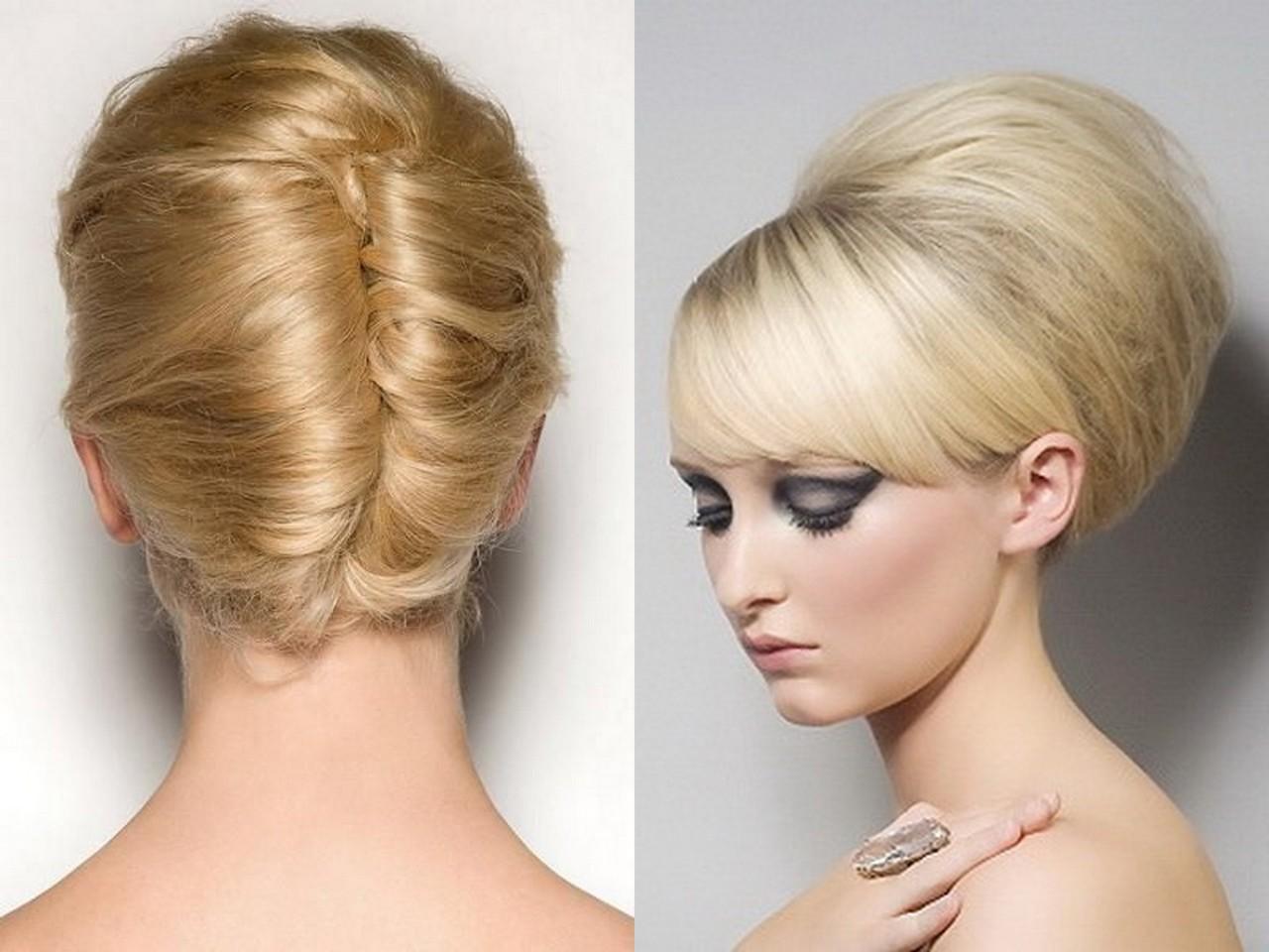 Прическа улитка на средние волосы фото