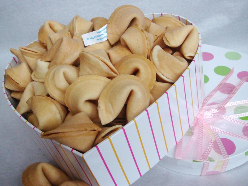 Печенье с желаниями рецепт