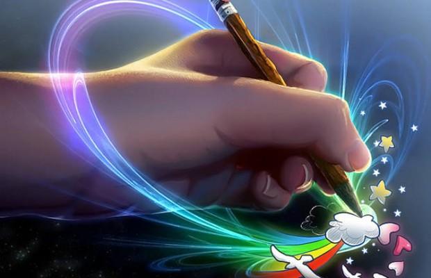 на бумаге с ручкой 2