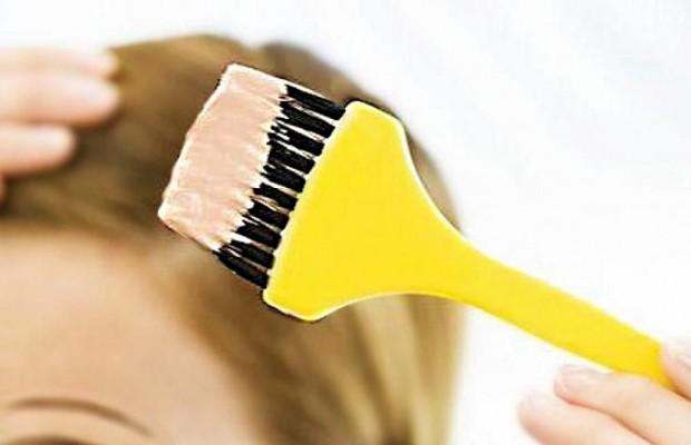 окраска волос дома