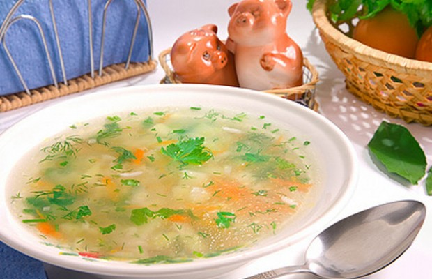 рисовый суп 2