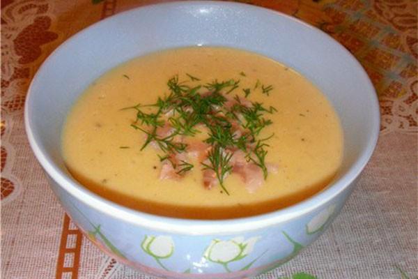 сырный суп 2