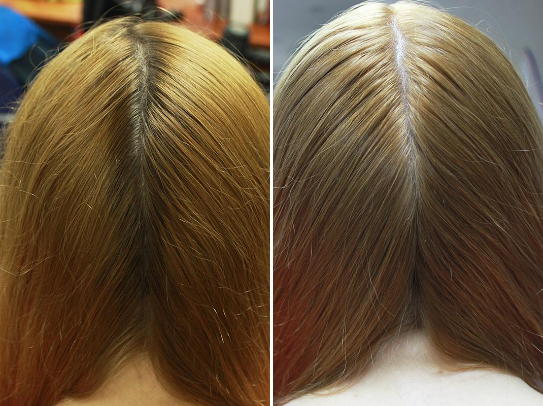 обесцвечивание волос отзывы фото до и после этого