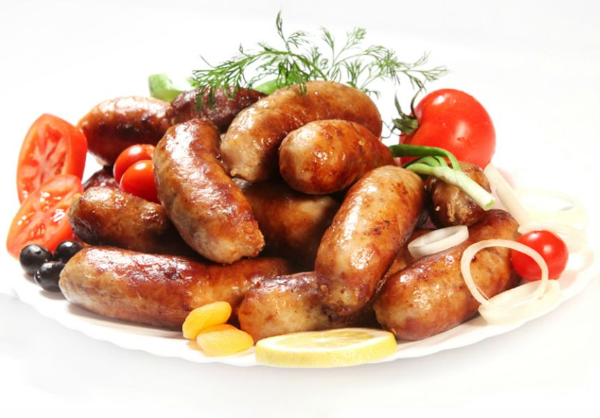 купаты и картофель в духовке рецепт