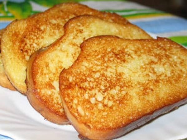 Как приготовить гренки с хлебом и яйцом