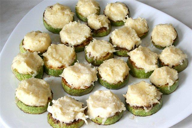 Жареные кабачки с сыром рецепт с фото