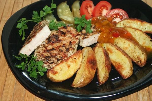 картофель по-деревенски 2