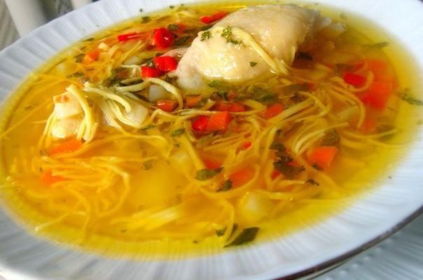 суп с лапшой 2