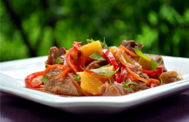 мясо с овощами 1
