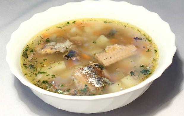суп с консервы