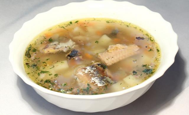 Рыбный суп из трески рецепт с пшеном