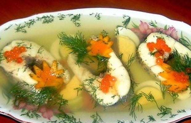 Рецепты приготовления рыбы заливной