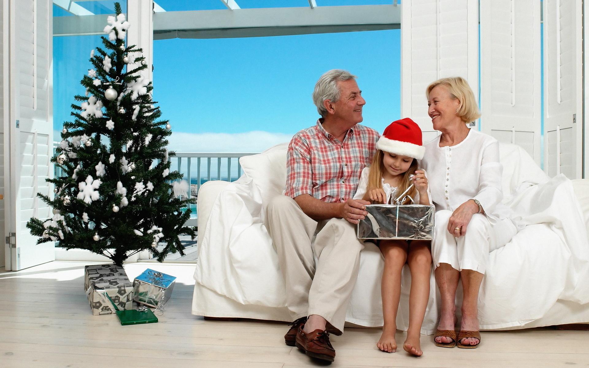 Открытка для бабушки на новый год фото, картинках лет