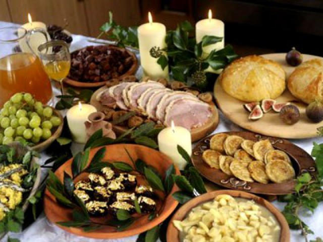 food drink and festivals of ancient