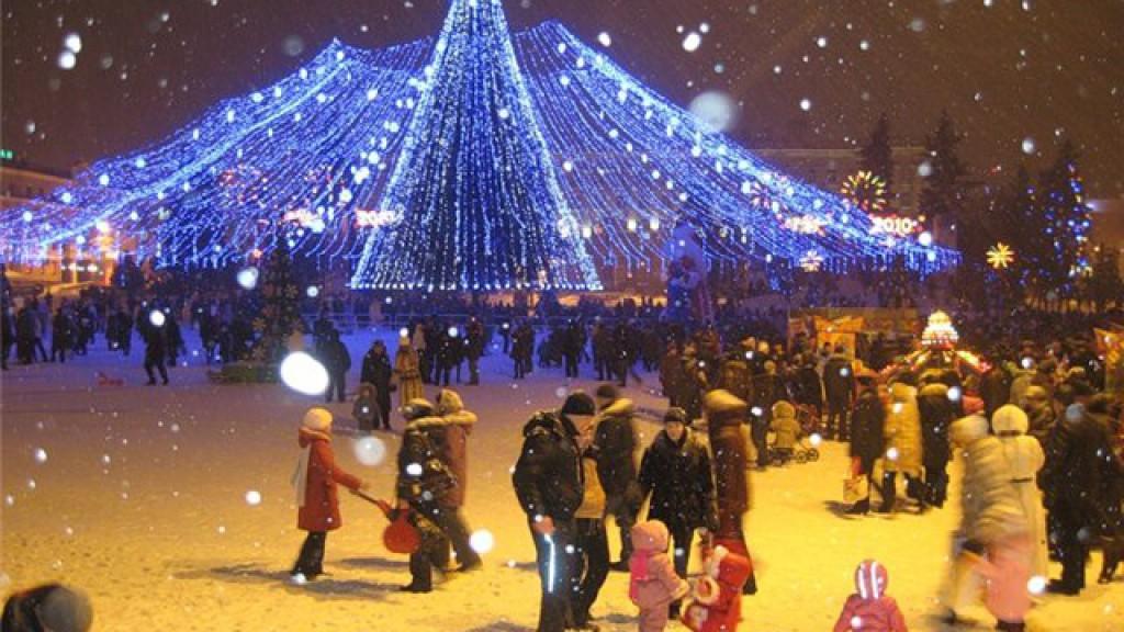 Новый 2017 год в Нижнем Новгороде
