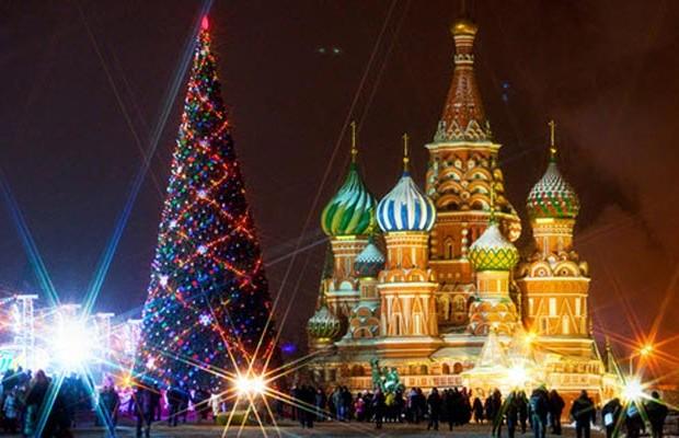новый год в москве 1