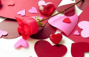 red symbols of love