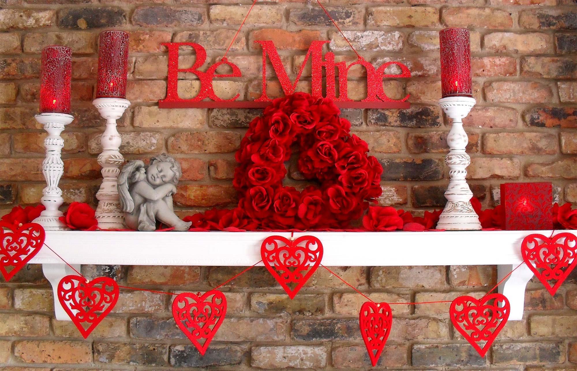 Декор к дню святого валентина своими руками