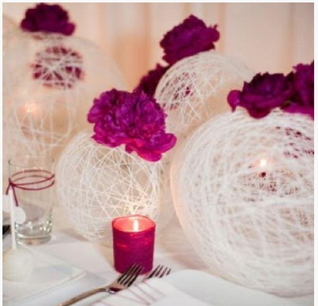 Сделать украшение для свадьбы своими руками