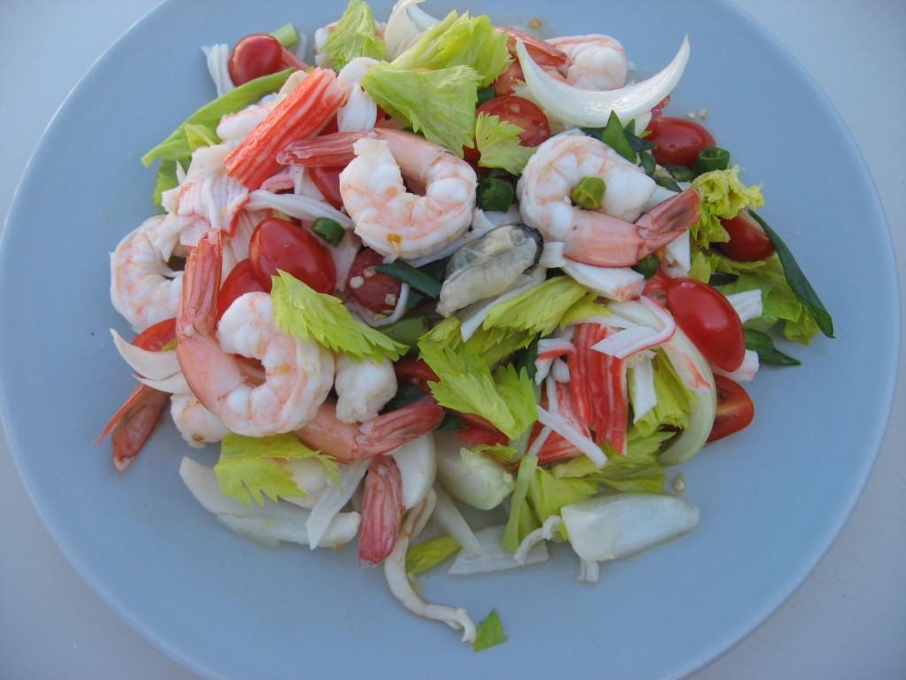 рецепты салатов из морепродуктов для похудения